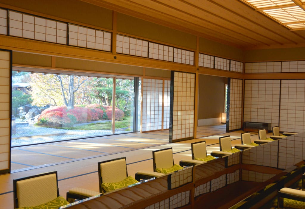 The Japanese-style banquet room,