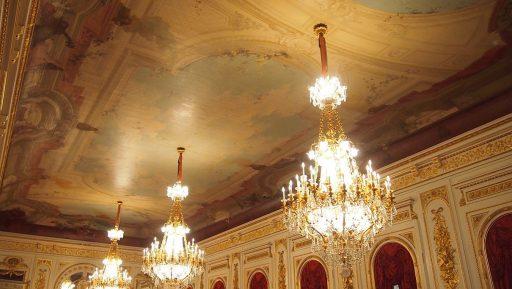 羽衣の間の天井画
