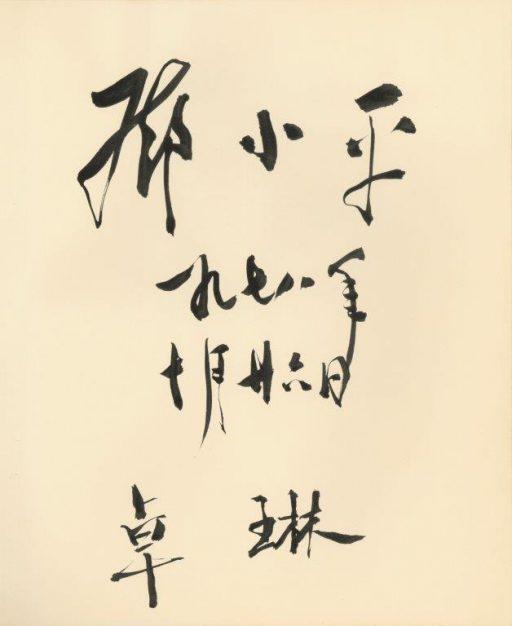 鄧小平国務院副総理閣下及び同令夫人