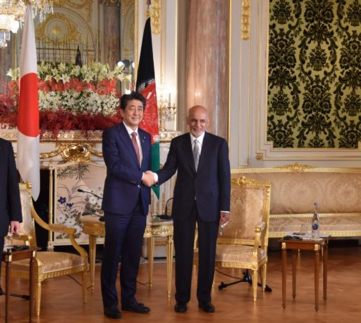 Prime Minister Abe meets with H.E. Dr. Mohammad Ashraf GHANI Ahmadzai, President, Islamic Republic of Afghanistan.