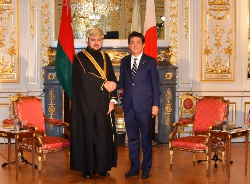 Prime Minister Abe meets with H.H. Sayyid ASSAD bin Tariq bin Taimur Al Said, Deputy Prime Minister for International Relations and Cooperation Affairs and Special representative for His Majesty the Sultan,Sultanate of Oman.